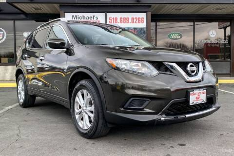 2015 Nissan Rogue for sale at Michaels Auto Plaza in East Greenbush NY