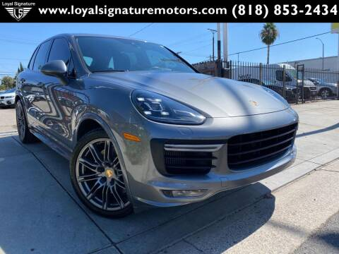 2017 Porsche Cayenne for sale at Loyal Signature Motors Inc. in Van Nuys CA