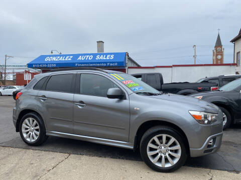 2011 Mitsubishi Outlander Sport for sale at Gonzalez Auto Sales in Joliet IL