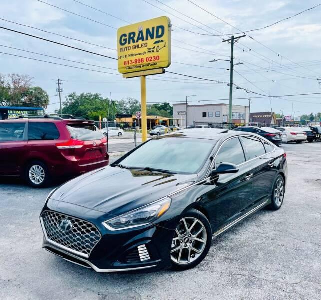 2018 Hyundai Sonata for sale at Grand Auto Sales in Tampa FL