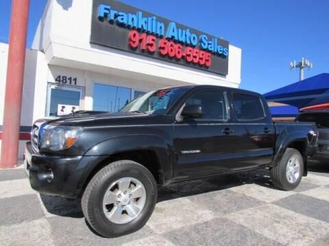2009 Toyota Tacoma for sale at Franklin Auto Sales in El Paso TX