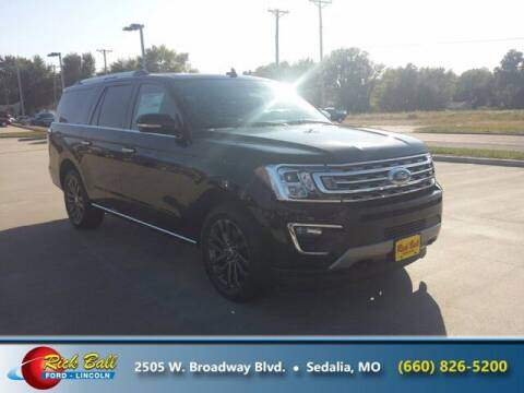 2020 Ford Expedition MAX for sale at RICK BALL FORD in Sedalia MO