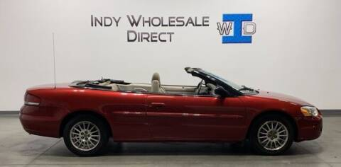 2006 Chrysler Sebring for sale at Indy Wholesale Direct in Carmel IN