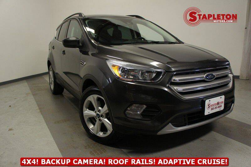2018 Ford Escape for sale at STAPLETON MOTORS in Commerce City CO