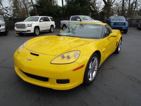2008 Chevrolet Corvette for sale at LULAY'S CAR CONNECTION in Salem OR