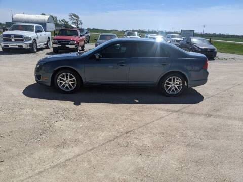 2012 Ford Fusion for sale at Halstead Motors LLC in Halstead KS