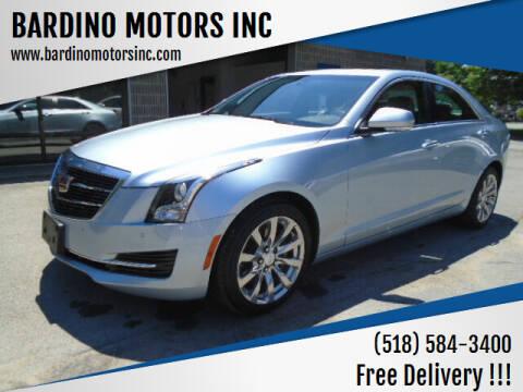 2018 Cadillac ATS for sale at BARDINO MOTORS INC in Saratoga Springs NY