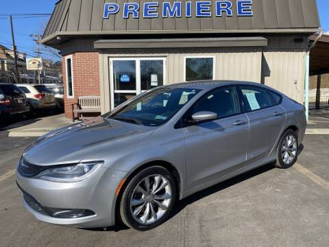 2015 Chrysler 200 for sale at Premiere Auto Sales in Washington PA