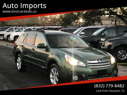 2013 Subaru Outback for sale at Auto Imports in Houston TX