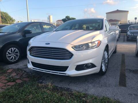 2013 Ford Fusion Energi for sale at Gtr Motors in Fort Lauderdale FL