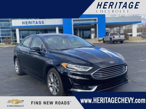2019 Ford Fusion for sale at HERITAGE CHEVROLET INC in Creek MI