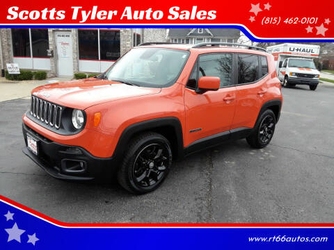 2015 Jeep Renegade for sale at Scotts Tyler Auto Sales in Wilmington IL