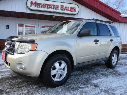 2010 Ford Escape for sale at Midstate Sales in Foley MN