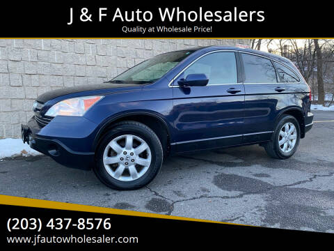 2008 Honda CR-V for sale at J & F Auto Wholesalers in Waterbury CT