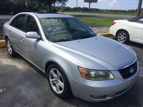 2007 Hyundai Sonata for sale at CARZ4YOU.com in Robertsdale AL