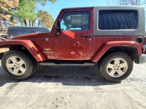 2009 Jeep Wrangler for sale at Stellar Motor Group in Hudson NH