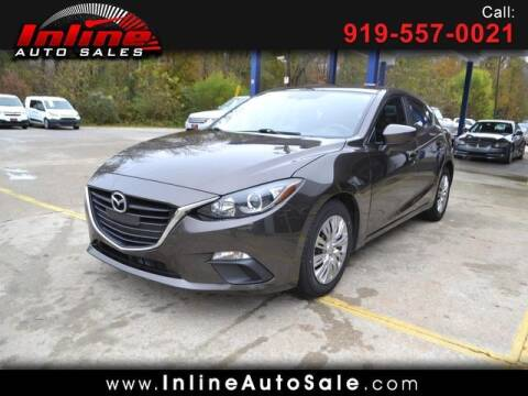 2016 Mazda MAZDA3 for sale at Inline Auto Sales in Fuquay Varina NC