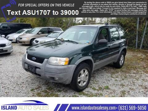 2001 Ford Escape for sale at Island Auto Sales in E.Patchogue NY
