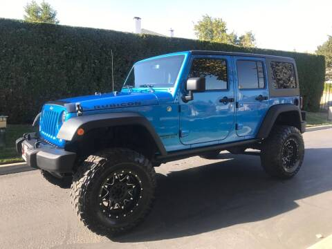 2015 Jeep Wrangler Unlimited for sale at Top Notch Motors in Yakima WA