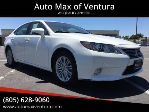 2014 Lexus ES 350 for sale at Auto Max of Ventura in Ventura CA