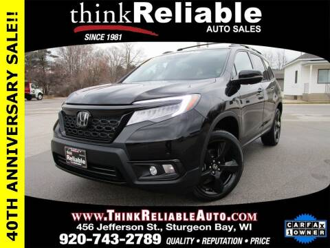 2019 Honda Passport for sale at RELIABLE AUTOMOBILE SALES, INC in Sturgeon Bay WI