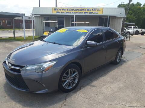 2015 Toyota Camry for sale at Taylor Trading Co in Beaumont TX