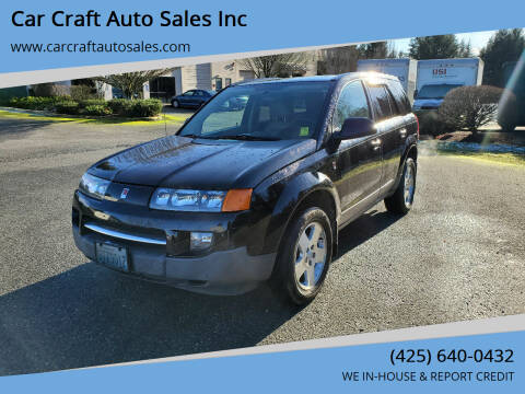 2004 Saturn Vue for sale at Car Craft Auto Sales Inc in Lynnwood WA