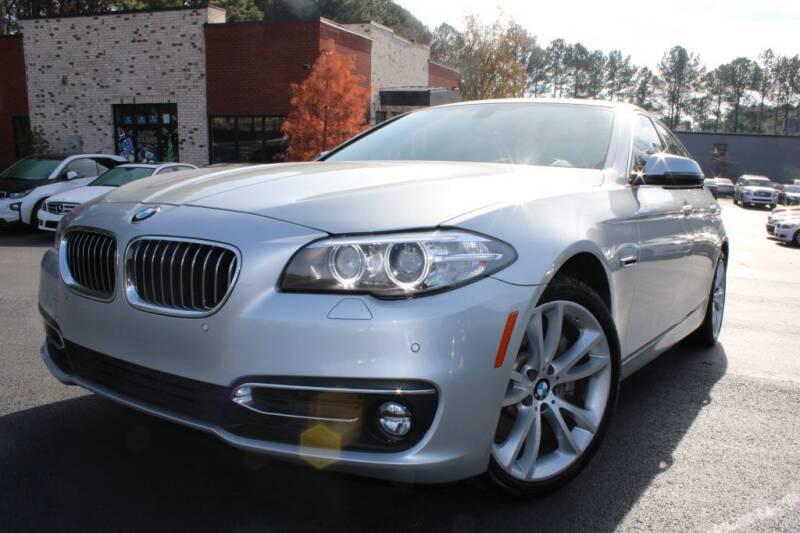 2015 BMW 5 Series for sale at Atlanta Unique Auto Sales in Norcross GA