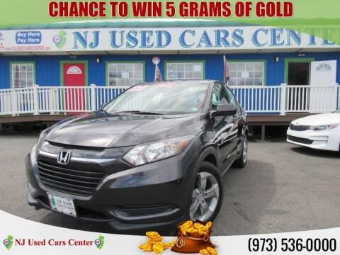 2018 Honda HR-V for sale at New Jersey Used Cars Center in Irvington NJ
