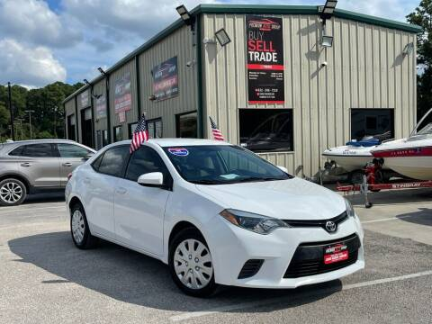 2015 Toyota Corolla for sale at Premium Auto Group in Humble TX