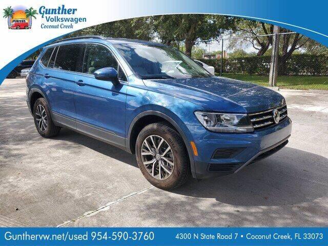 2019 Volkswagen Tiguan for sale in Coconut Creek, FL