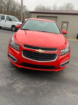 2016 Chevrolet Cruze Limited for sale at RHK Motors LLC in West Union OH