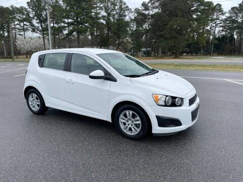 2016 Chevrolet Sonic for sale at Carprime Outlet LLC in Angier NC
