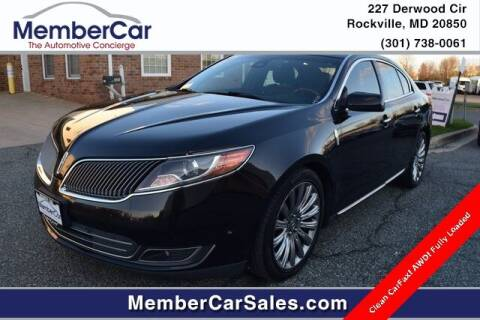 2013 Lincoln MKS for sale at MemberCar in Rockville MD