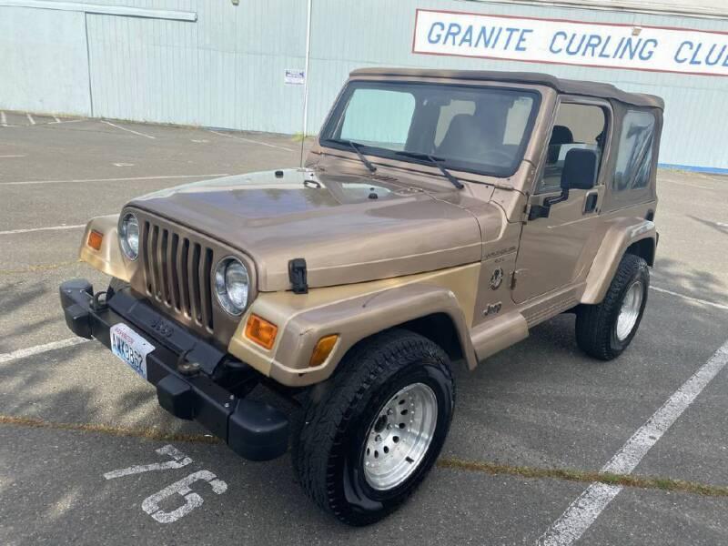 1999 Jeep Wrangler for sale at Washington Auto Loan House in Seattle WA