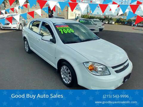 2009 Chevrolet Cobalt for sale at Good Buy Auto Sales in Philadelphia PA