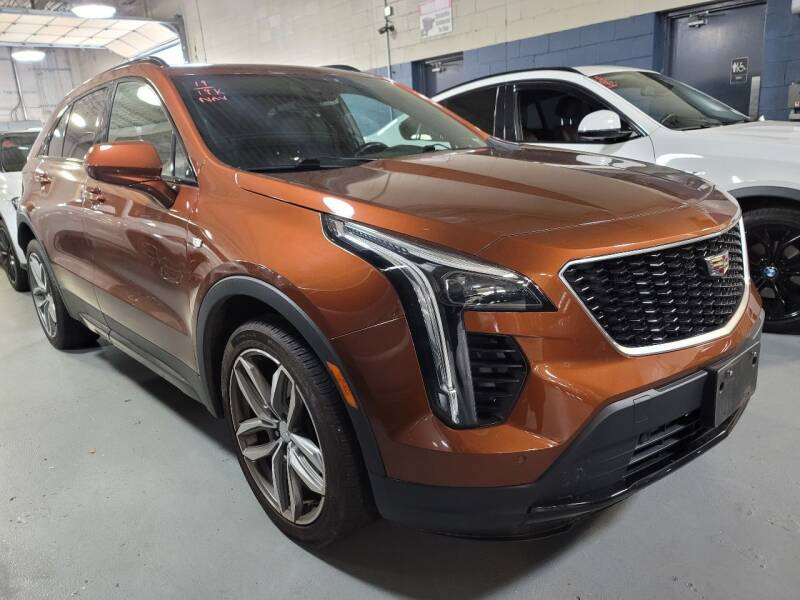 2019 Cadillac XT4 for sale at AW Auto & Truck Wholesalers  Inc. in Hasbrouck Heights NJ