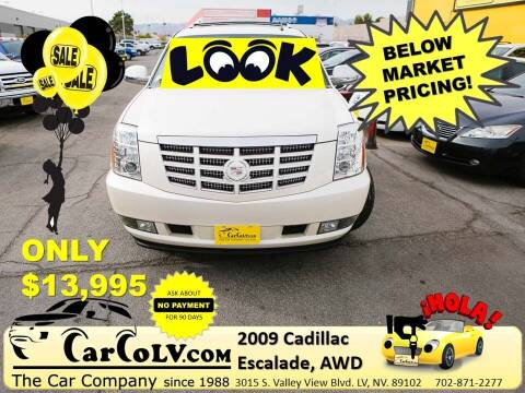 2009 Cadillac Escalade for sale at The Car Company in Las Vegas NV
