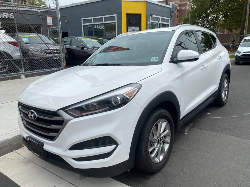 2018 Hyundai Tucson for sale at DEALS ON WHEELS in Newark NJ