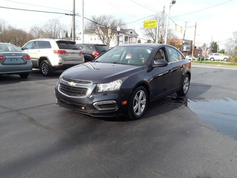 2015 Chevrolet Cruze for sale at Sarchione INC in Alliance OH
