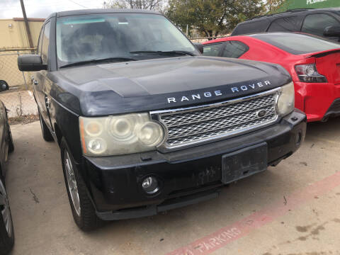 2008 Land Rover Range Rover for sale at Auto Access in Irving TX