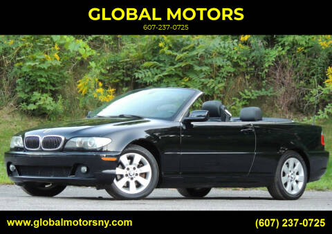 2006 BMW 3 Series for sale at GLOBAL MOTORS in Binghamton NY