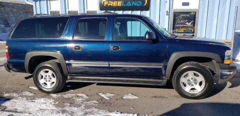2005 Chevrolet Suburban for sale at Freeland LLC in Waukesha WI