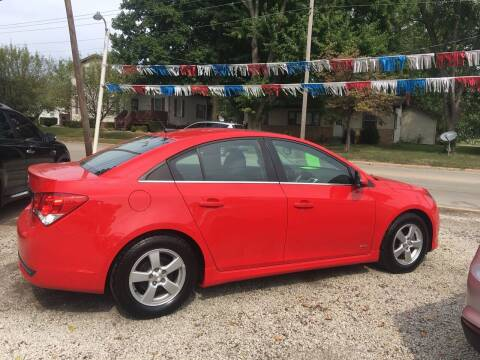 2014 Chevrolet Cruze for sale at Antique Motors in Plymouth IN
