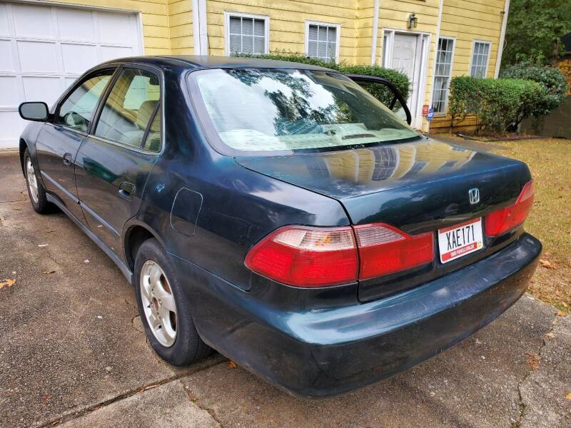 1999 Honda Accord for sale at Palmer Automobile Sales in Decatur GA