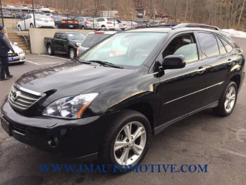 2008 Lexus RX 400h for sale at J & M Automotive in Naugatuck CT