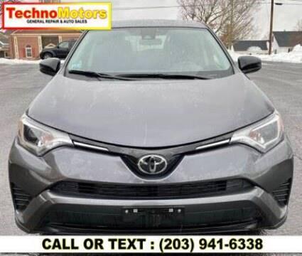2018 Toyota RAV4 for sale at Techno Motors in Danbury CT