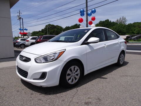 2017 Hyundai Accent for sale at KING RICHARDS AUTO CENTER in East Providence RI