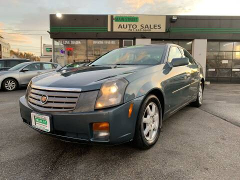 2006 Cadillac CTS for sale at Wakefield Auto Sales of Main Street Inc. in Wakefield MA