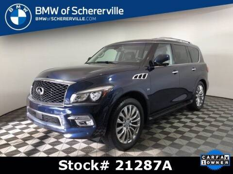 2017 Infiniti QX80 for sale at BMW of Schererville in Shererville IN
